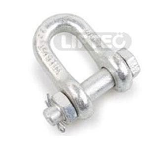 US Type Forged Dee Safety Shackle