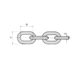 Regular Link Proof Coil Chain