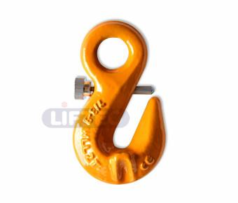G80 Eye Shortening Grab Hook With Safety Pin