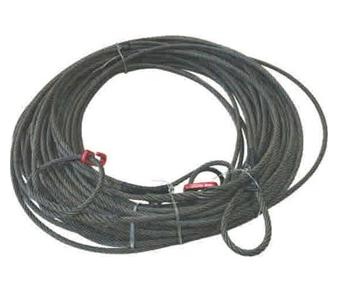 Strawline Cable C/W Hooks&Eye Spliced For Logging
